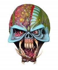Maska lateksowa - Iron Maiden Final Frontier