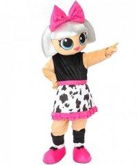 Chodząca żywa duża maskotka - LOL Doll Suprise Diva
