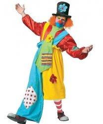 Profesjonalny strój dla klauna - Klaun Fiołek