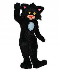 Strój chodzącej maskotki - Kot Czarnuszek