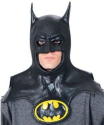 Maska lateksowa - Batman Deluxe