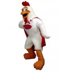 Strój chodzącej maskotki - Super Kurczak
