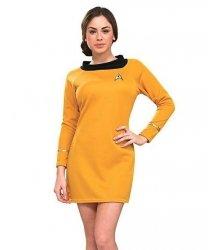 Kostium z filmu - Star Trek Gold Dress