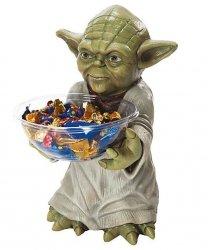 Ozdoba - Stojak na słodycze Star Wars Yoda 50 cm