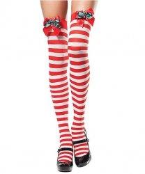 Pończochy samonośne - Miss Santa