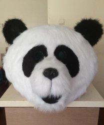 Głowa chodzącej maskotki - Panda 2