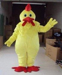Strój chodzącej maskotki - Kurczak Wielkanocny 2
