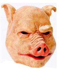 Maska lateksowa - Świniak
