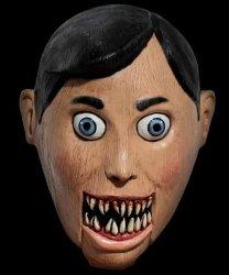 Maska lateksowa - Marionetka