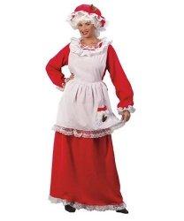 Kostium świąteczny - Pani Mikołajowa 3