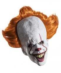 Maska lateksowa - 2017 Pennywise IT Horror Clown