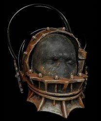 Maska lateksowa - Orginal Saw Bear Trap