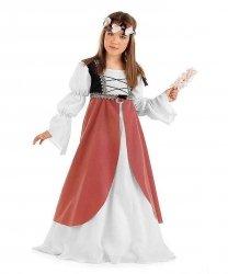 Kostium dla dziecka - Średniowieczna Panna Młoda