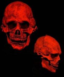 Maska lateksowa - UV Czaszka