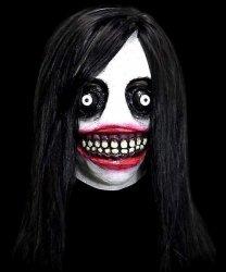 Maska lateksowa - Jeff The Killer