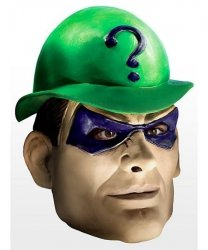 Maska lateksowa - Batman Riddler