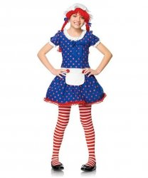 Kostium dla dziecka - Szmaciana lalka