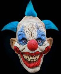 Maska lateksowa - Horror Klaun Grinse