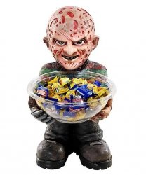 Ozdoba - Stojak na słodycze Freddy Kruger 50 cm