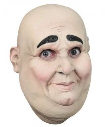 Maska lateksowa - Eunuch