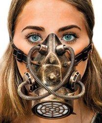 Maska - Steampunk Gas II