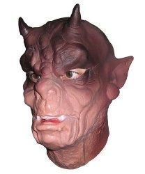 Maska lateksowa - Diabeł