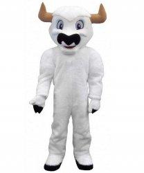 Strój chodzącej maskotki - Byk Biały