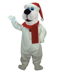Chodząca maskotka - Bożonariodzeniowy Miś Polarny II Deluxe