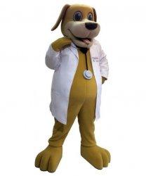 Strój chodzącej maskotki - Pies Lekarz