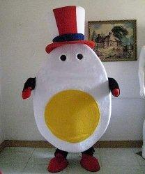 Chodząca maskotka - Polskie Tradycyjne Jajko Wielkanocne