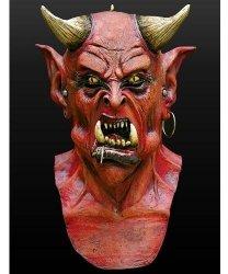 Maska lateksowa - Władca piekieł
