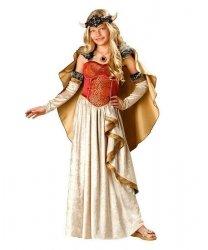 Kostium sceniczny dla dziecka - Królowa Wikingów
