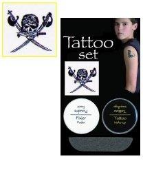 Tatuaż zmywalny - Pirat
