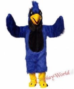 Strój chodzącej maskotki - Papuga Niebieska