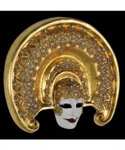 Maska wenecka - Brenda Gold