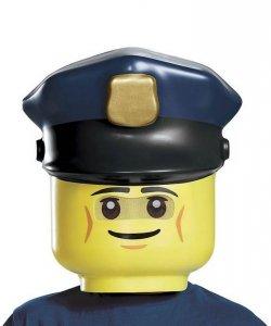 Maska lateksowa - Lego Policjant