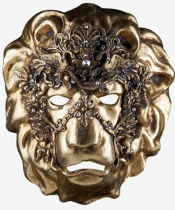 Maska wenecka - Lion Baroque