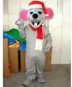 Chodząca maskotka - Bożonarodzeniowy Szczurek