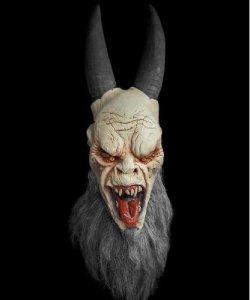 Maska lateksowa - Krampus