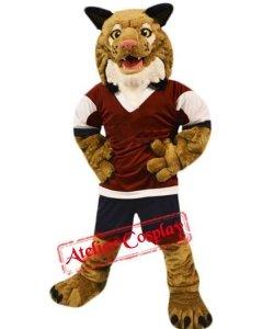Strój chodzącej maskotki - Tygrys Sportowiec
