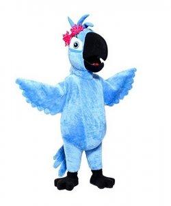 Strój chodzącej maskotki - Papuga Jewel