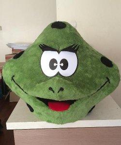 Głowa chodzącej maskotki - Żaba 3