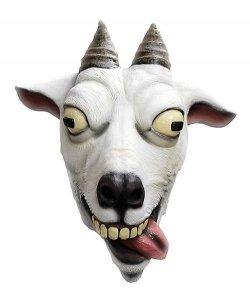 Maska lateksowa - Koza