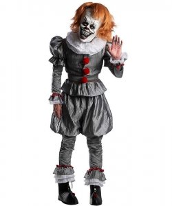 Strój na Halloween - Pennywise 2019 Stephen King's IT Horror Clow