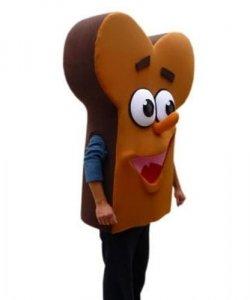 Strój reklamowy - Kromka chleba