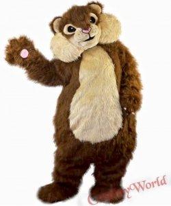 Strój chodzącej maskotki - Kudłata Wiewiórka