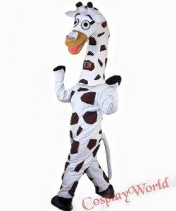 Strój chodzącej maskotki - Żyrafa Klara