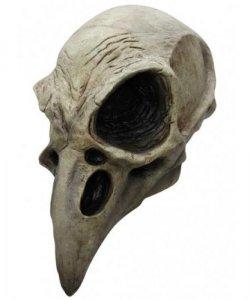 Maska lateksowa - Czaszka Kruka
