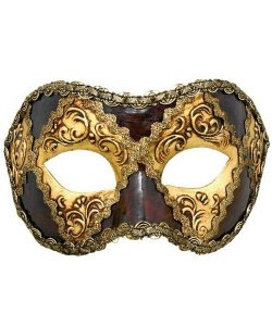 Maska wenecka - Colombina Scacchi III