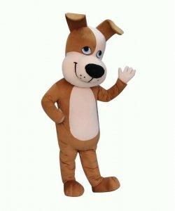 Strój chodzącej maskotki - Pies Łatka